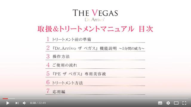 (公式)THE VEGAS 取り扱い&トリートメントマニュアル